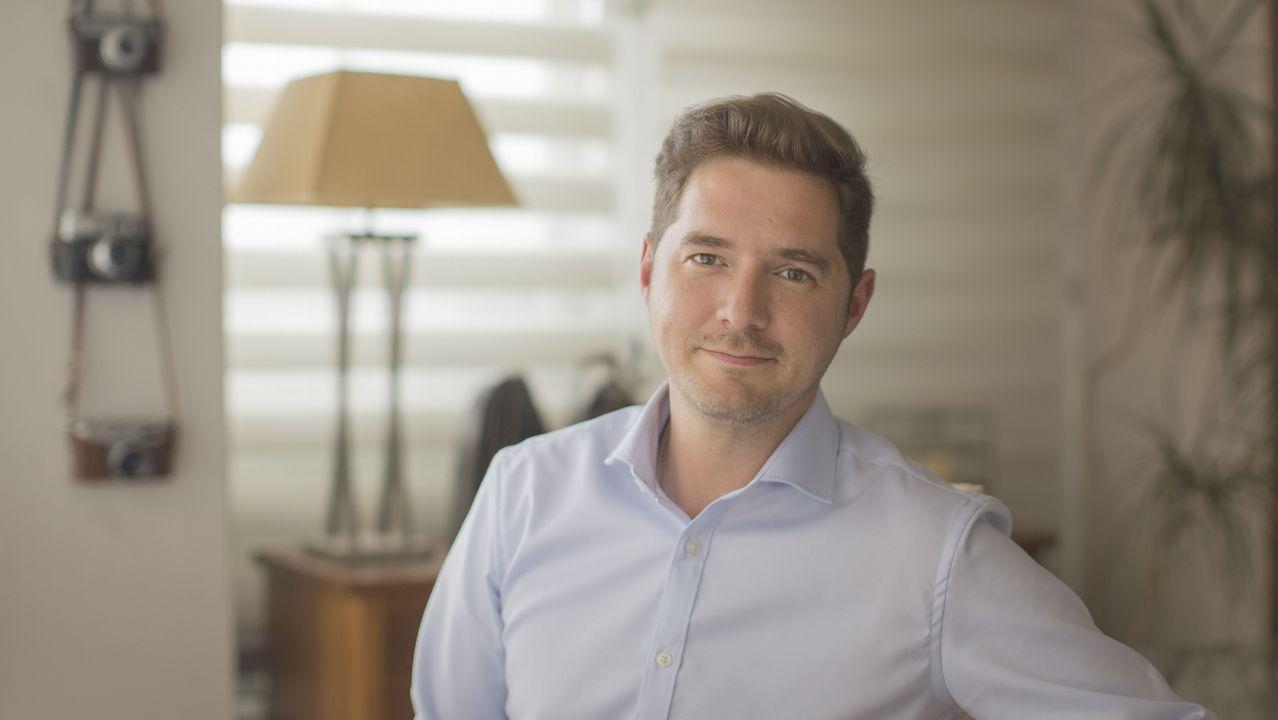 Andrés Docampo basa su novela sobre un relato con el que ganó el premio Emilia Pardo Bazán