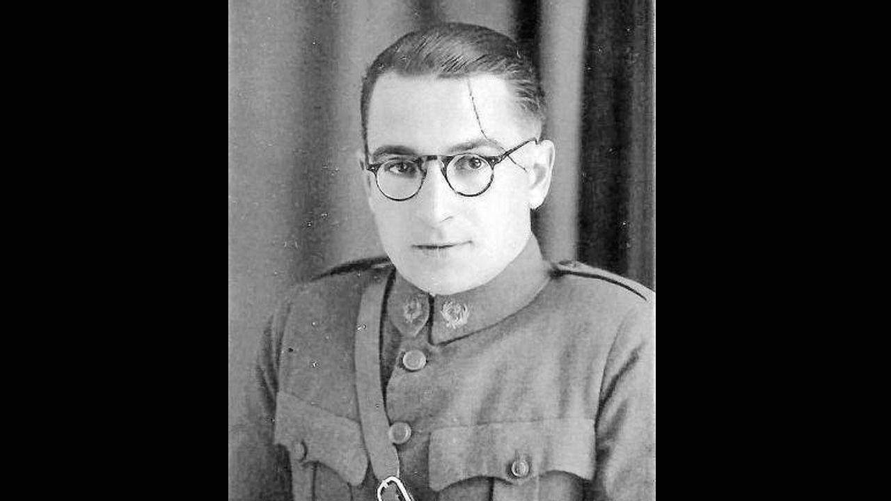 El comandante Cándido Saseta, que cayó al frente de una brigada vasca en el frente de Oviedo