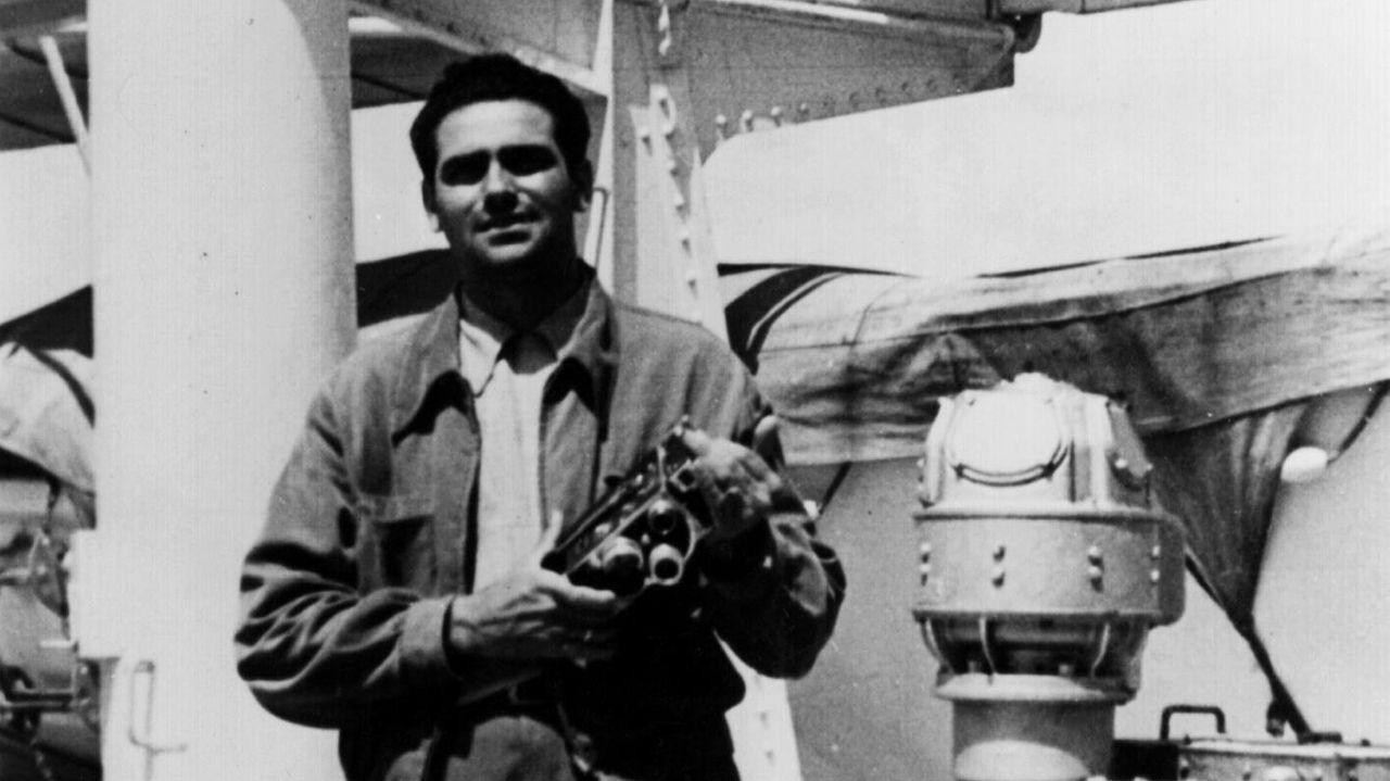Manuel Arís Torres, que filmou a Galicia dos 50 para a emigración. A súa película pódese visionar na web do CGAI