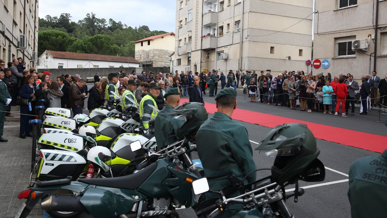 ACTO INSTITUCIONAL CASTRENSE DEL DÍA DEL PILAR EN OURENSE.La Guardia Civil celebró el día de su patrona en Ourense