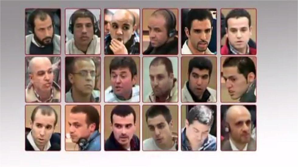 Ocho condenados del 11-M seguirán en prisión al acabar el año.Emilio Trashorras