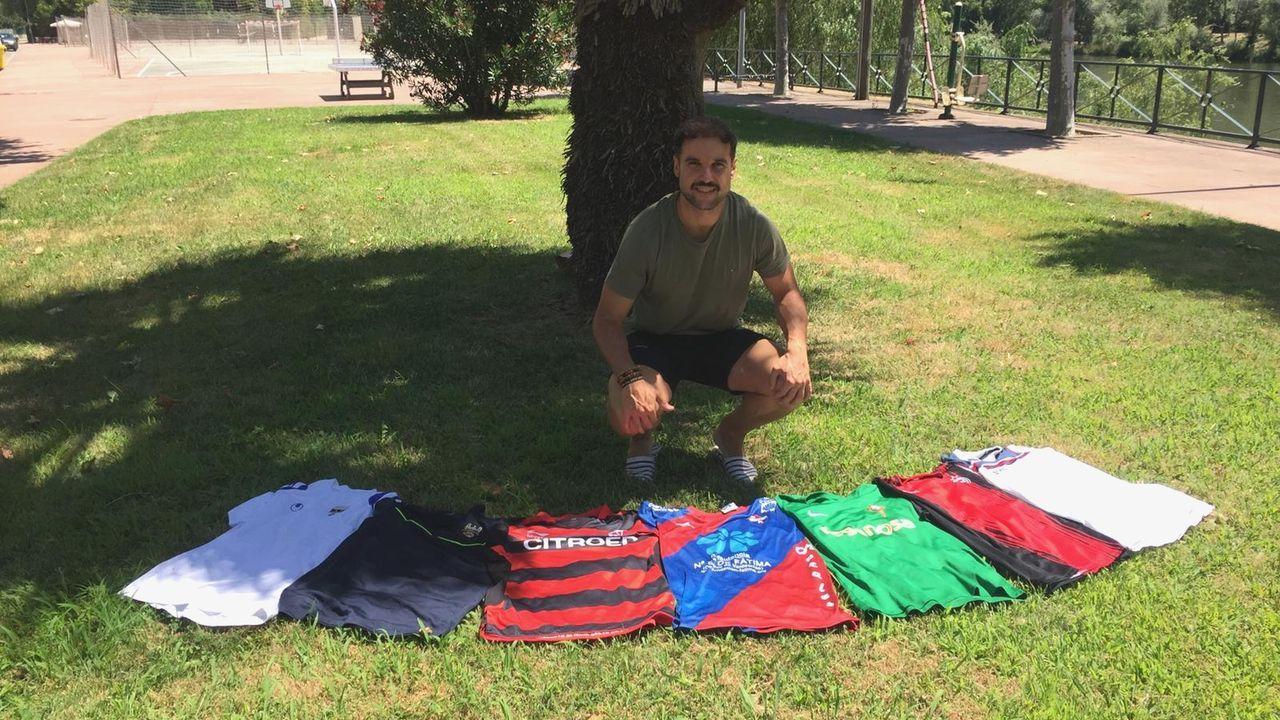 Todas las imágenes del Compostela-Barco.Abel Caballero, con Carmela Silva y Javier Pardo