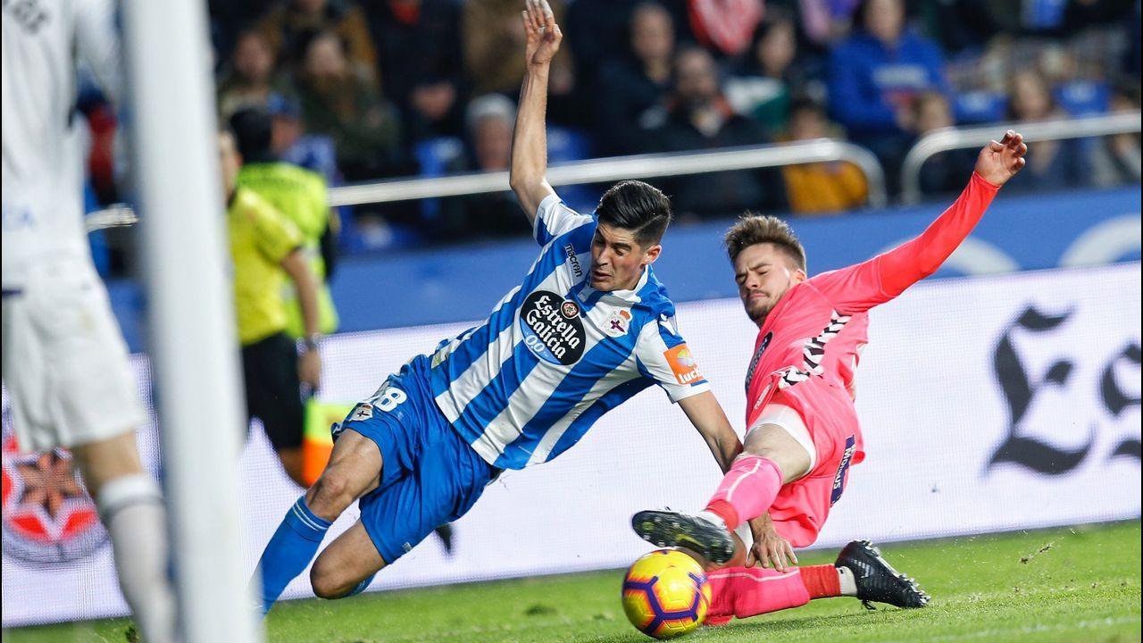 El Zaragoza-Deportivo en imágenes.Andrés Junquera
