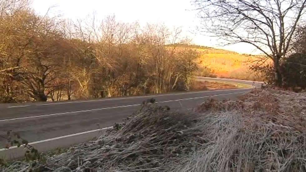 Las carreteras lucenses, preparadas para el frío siberiano