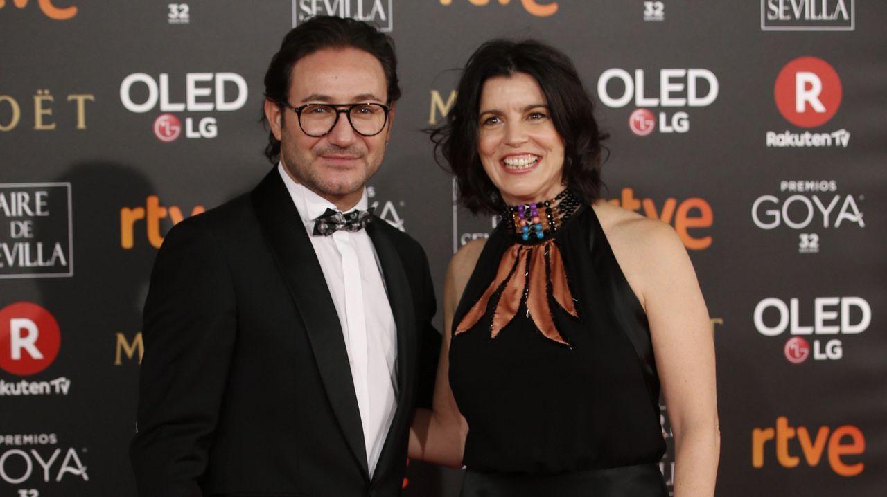 Maria Botto.Los actores Carlos Santos y Laia Marull