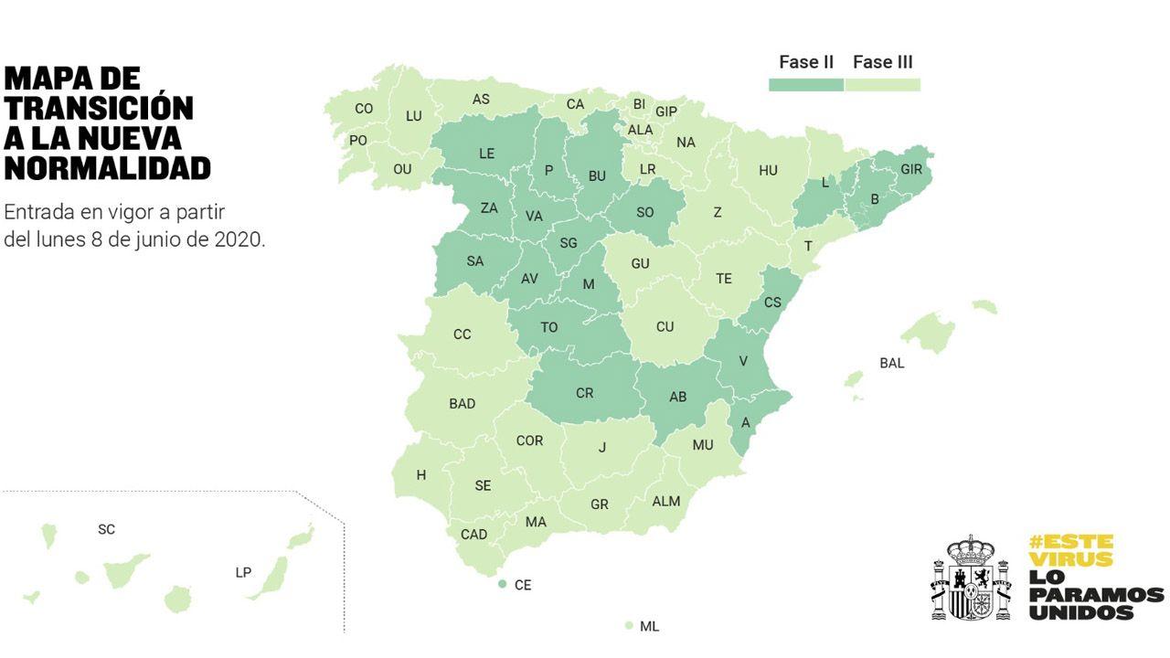 gol Luismi Ortuño Nolaskoain Real Oviedo Deportivo Carlos Tartiere.Mapa de la fase tres, a partir del lunes 8 de junio
