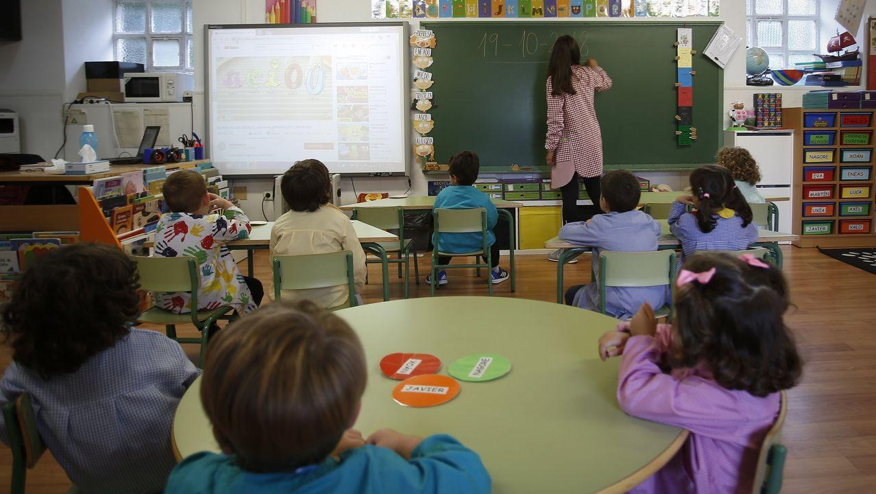 Imagen de archivo tomada en el 2018 en una escuela unitaria