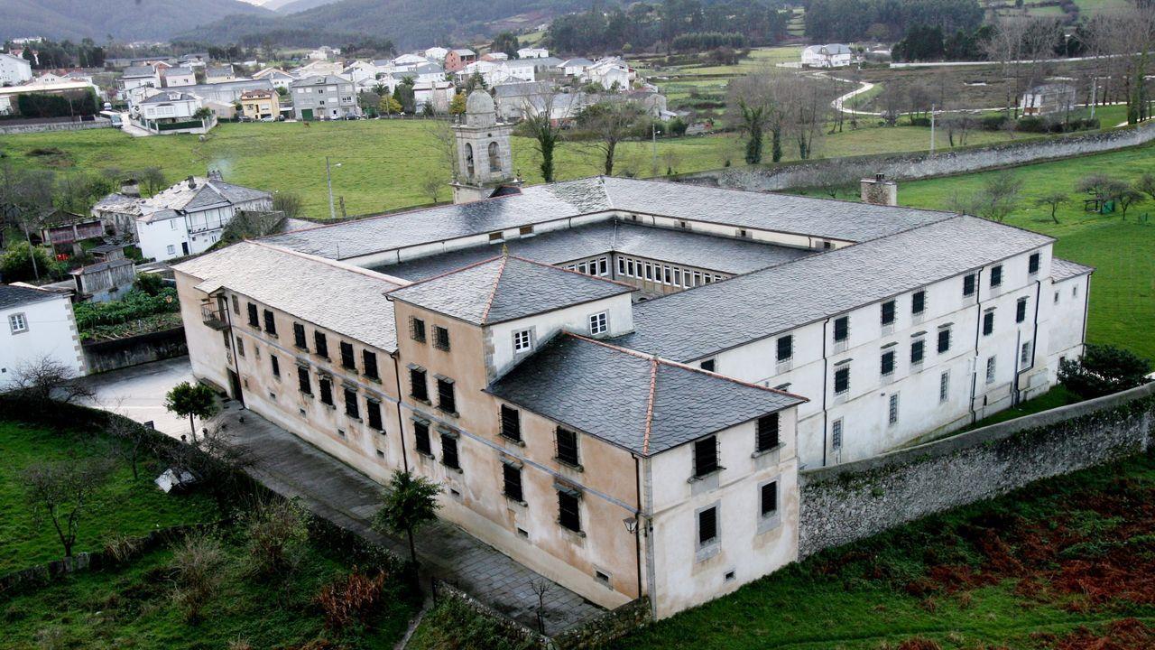 Imagen de archivo del convento de Valdeflores, cerrado hace más de un año por los dominicos tras conflictos internos en la congregación de religiosas que lo había habitado durante siglos