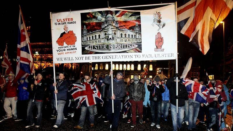 Enfrentamientos en Belfast