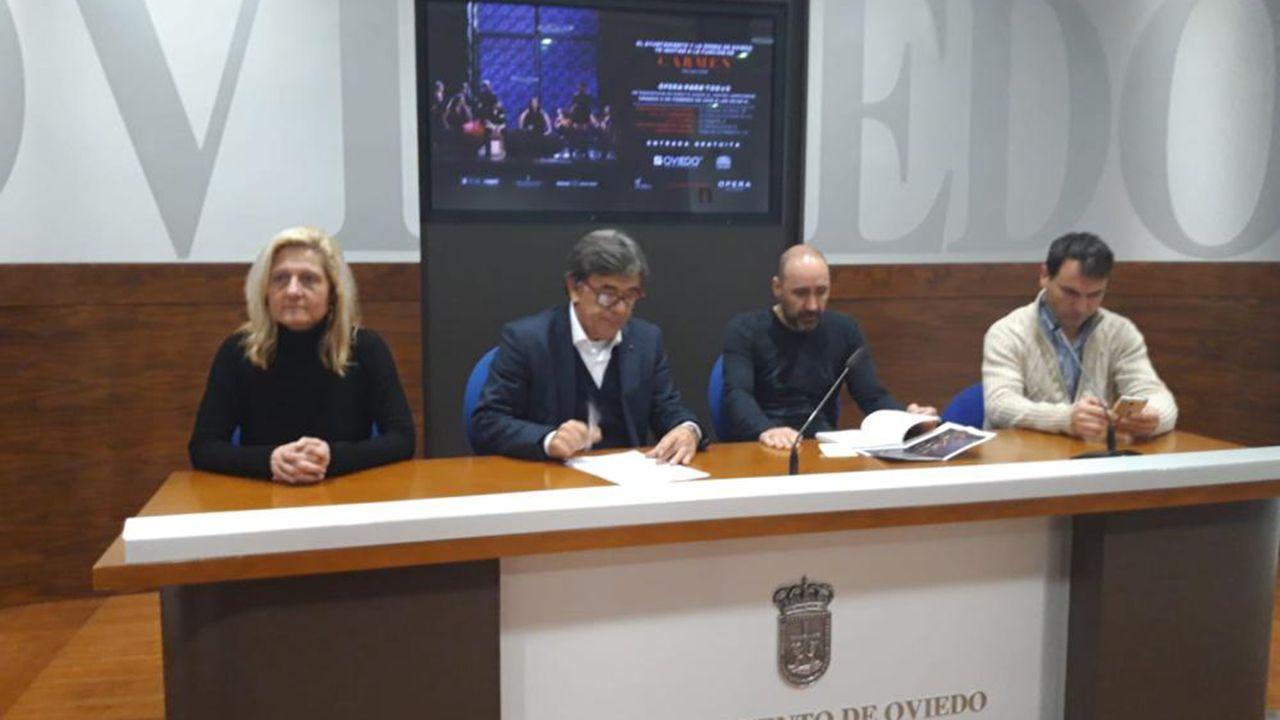 Presentación de la ópera Carmen en Oviedo