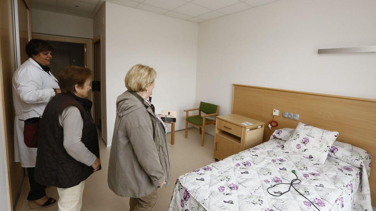 Actividades lúdicas en la residencia de mayores Divina Pastora de Vilagarcía