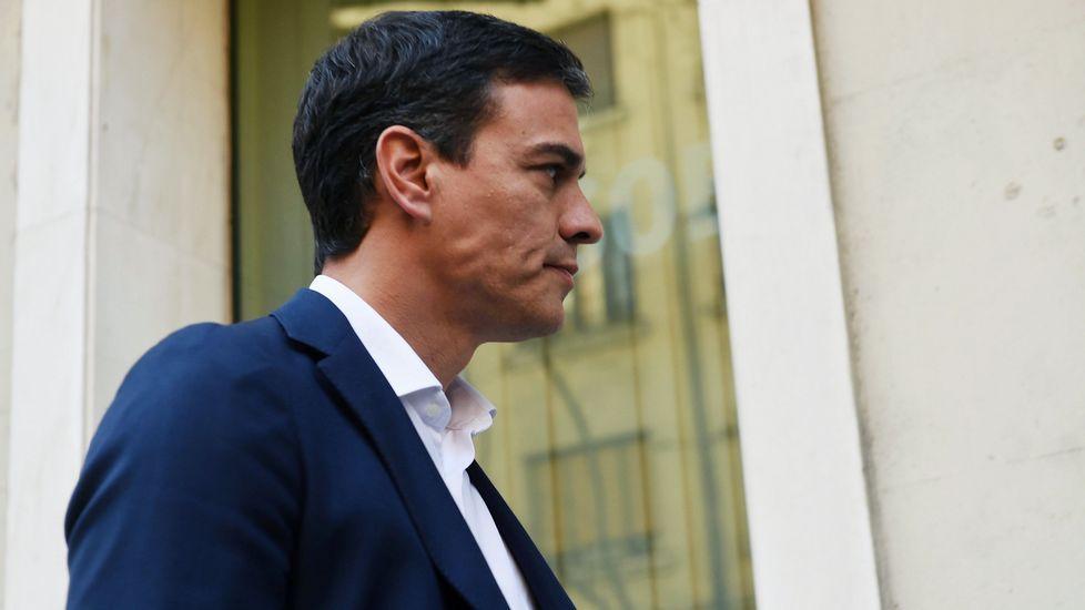 El exlíder socialista Pedro Sánchez, que vuelve a aspirar a la secretaría general de la formación.