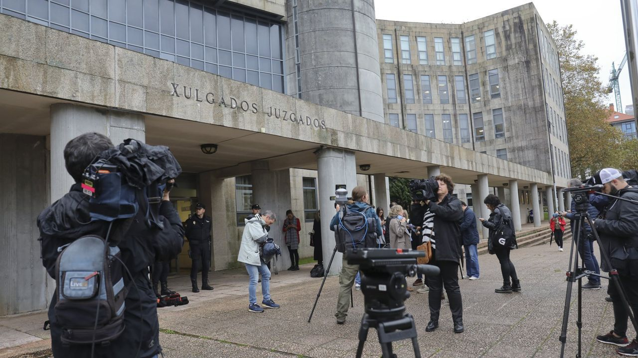 Edificio de los juzgados de Santiago, en una imagen de archivo