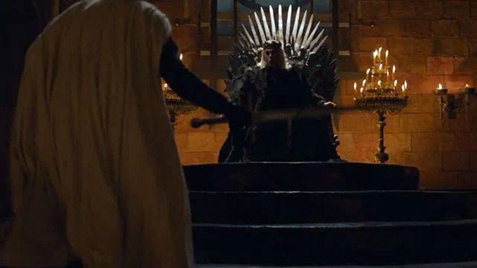 El Rey Loco ordena a Jaime matar a su padre, Tywin