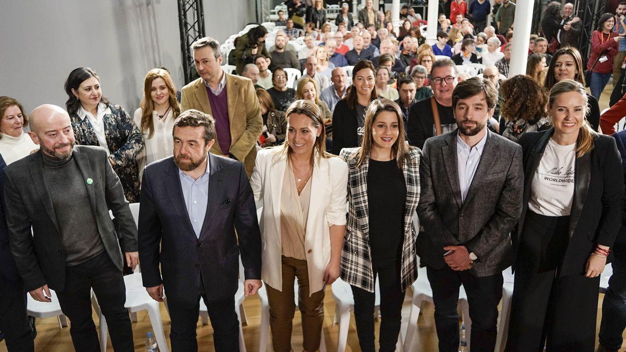 El BNG propone 40 medidas: blindar Galicia, eliminar cuotas a autónomos y reforzar la prevención de violencia machista.Presentación de la candidatura de Ciudadanos en Galicia