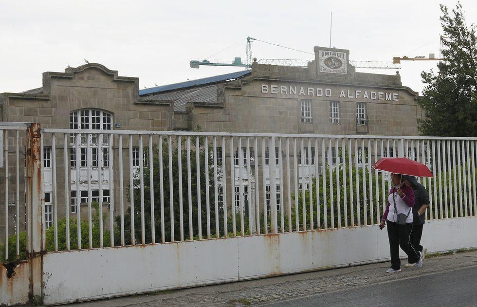 Alfageme es de los últimos ejemplos de arquitectura industrial histórica que se conservan en Vigo.