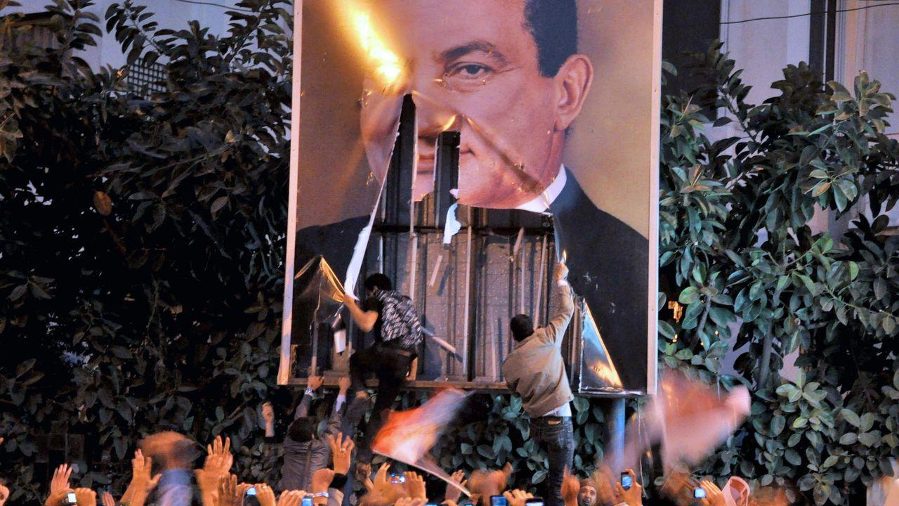 Caída de Mubarak en el 2011