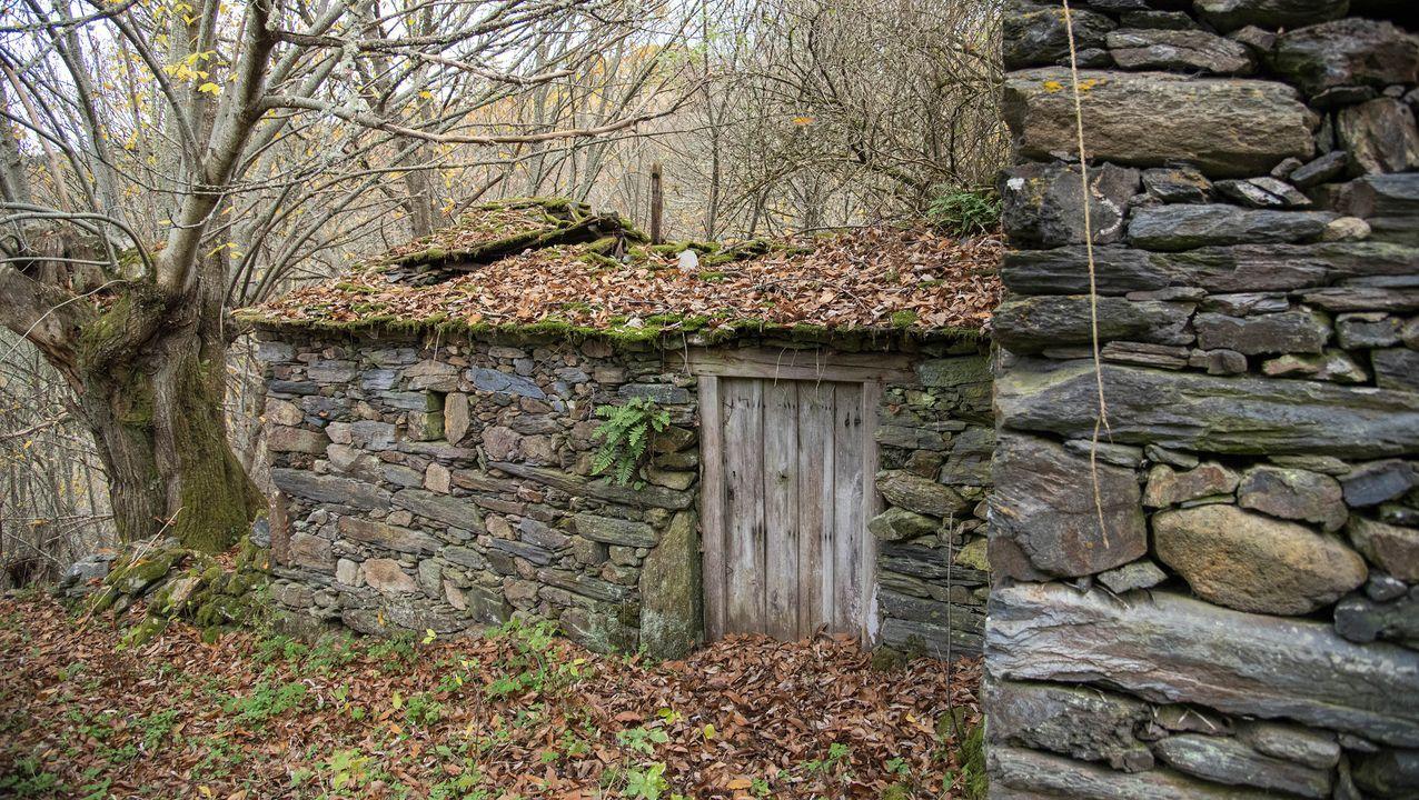 Sequeiros en el lugar conocido tradicionalmente como O Canello