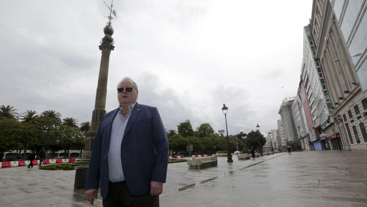 Javier Mosquera, presidente de la Zona Comercial Obelisco y responsable de Casa Cuenca, considera que el proyecto es ambicioso pero objeta que «era prioritario el tema de la calle San Andrés» y el aprovechamiento relativo del área peatonal «en una ciudad en la que el verano dura dos meses y medio, no más».