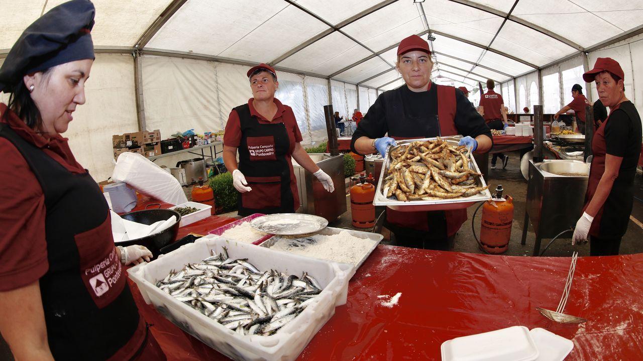 Arranca la Festa Gastronómica dos Produtos do Mar de Rianxo