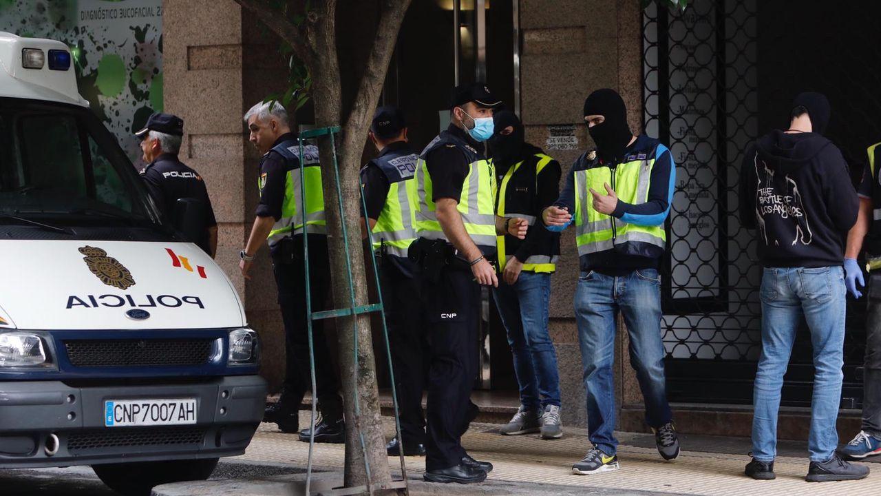Comisaría de la Policía Nacional en Gijón.Comisaría de la Policía Nacional en Gijón