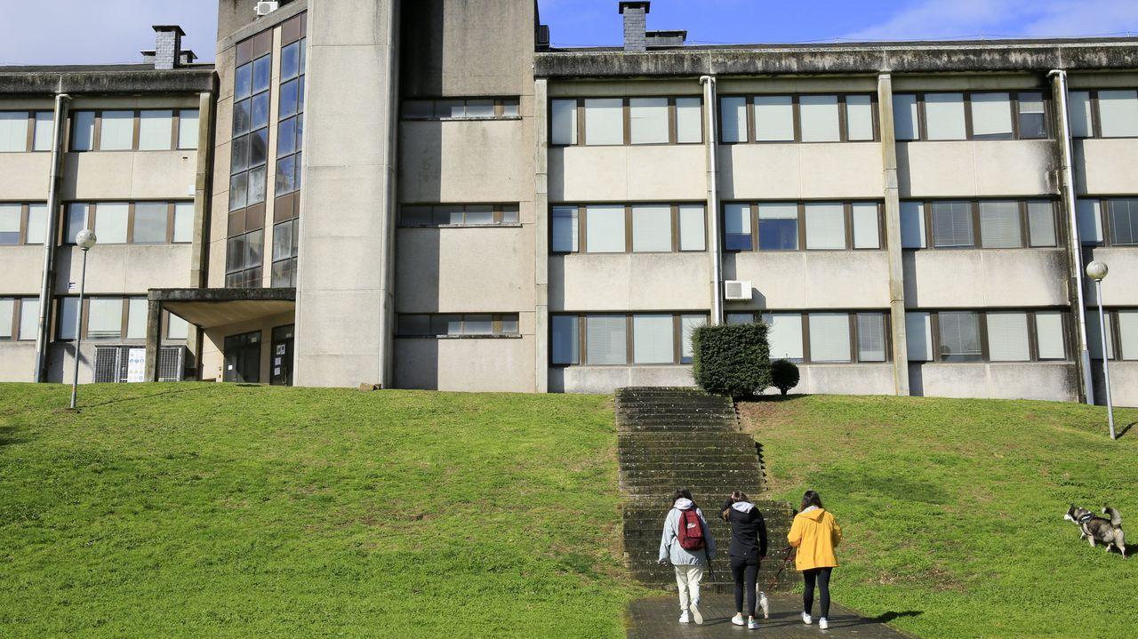 Exterior de la Facultade de Veterinaria, que tiene este curso 700 alumnos