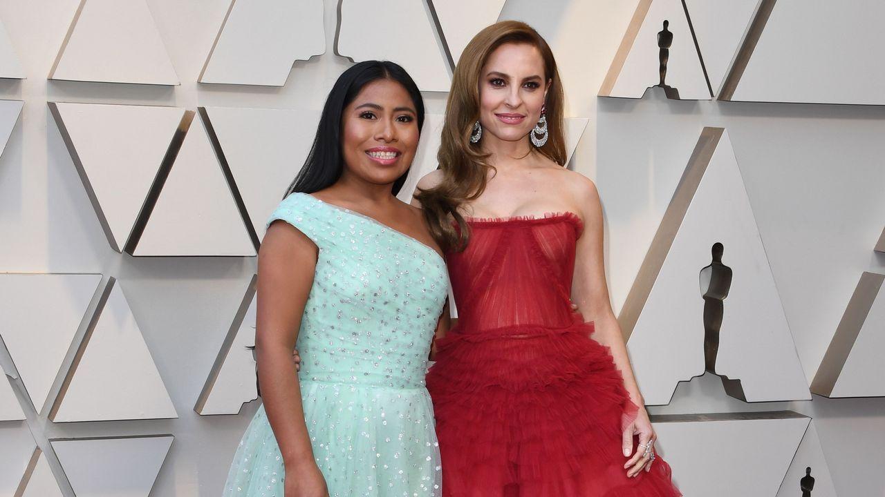 Las actrices Yalitza Aparicio y Marina de Tavira