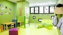Una de las aulas del centro infantil Colores de gijón