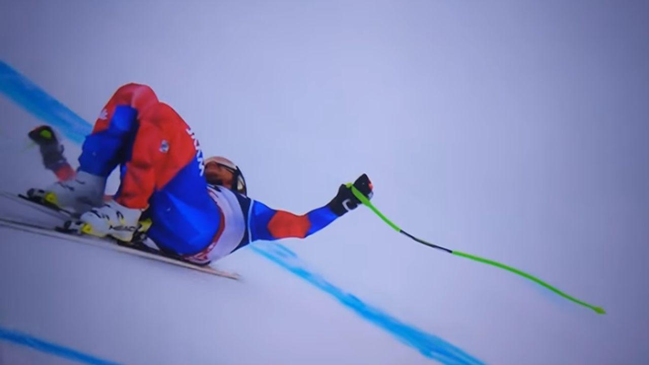 Campeonato de esquí celebrado en la estación de Pajares