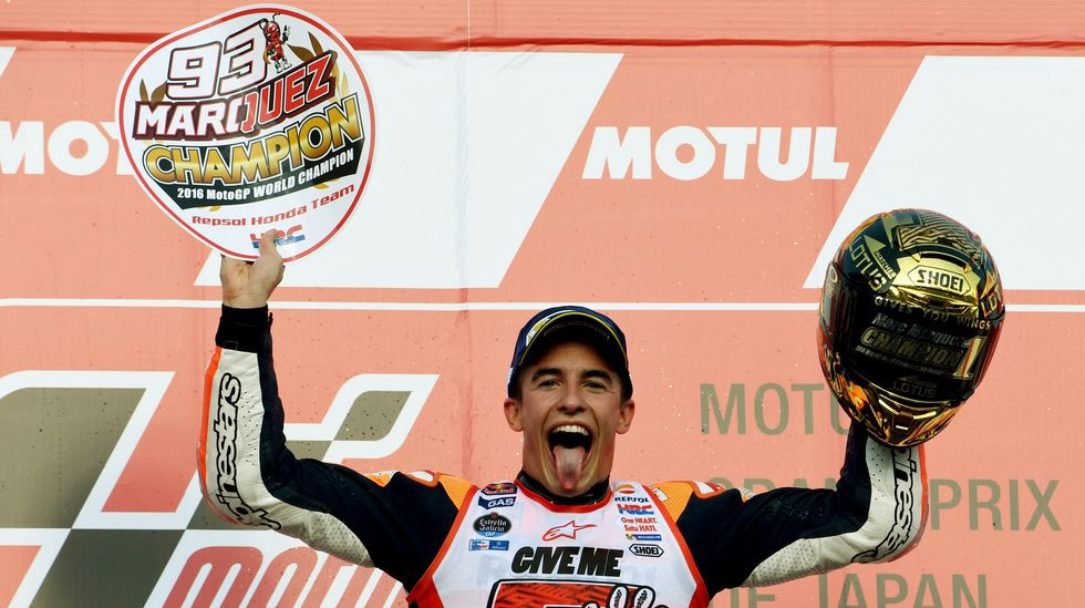 Márquez, tricampeón del mundo