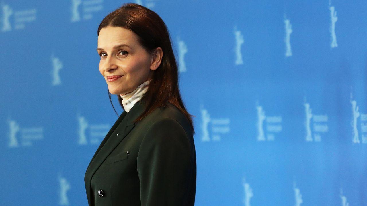 La actriz francesa Juliette Binoche posa como presidenta del jurado de la 69.ª edición de la Berlinale