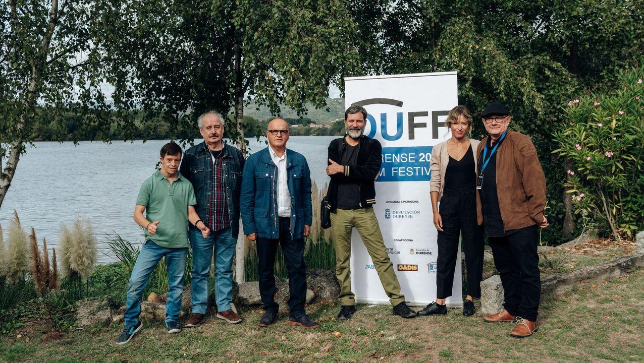 Imagen de la edición anterior del OUFF, cuando dio comienzo el rodaje de  Olvido y Leon