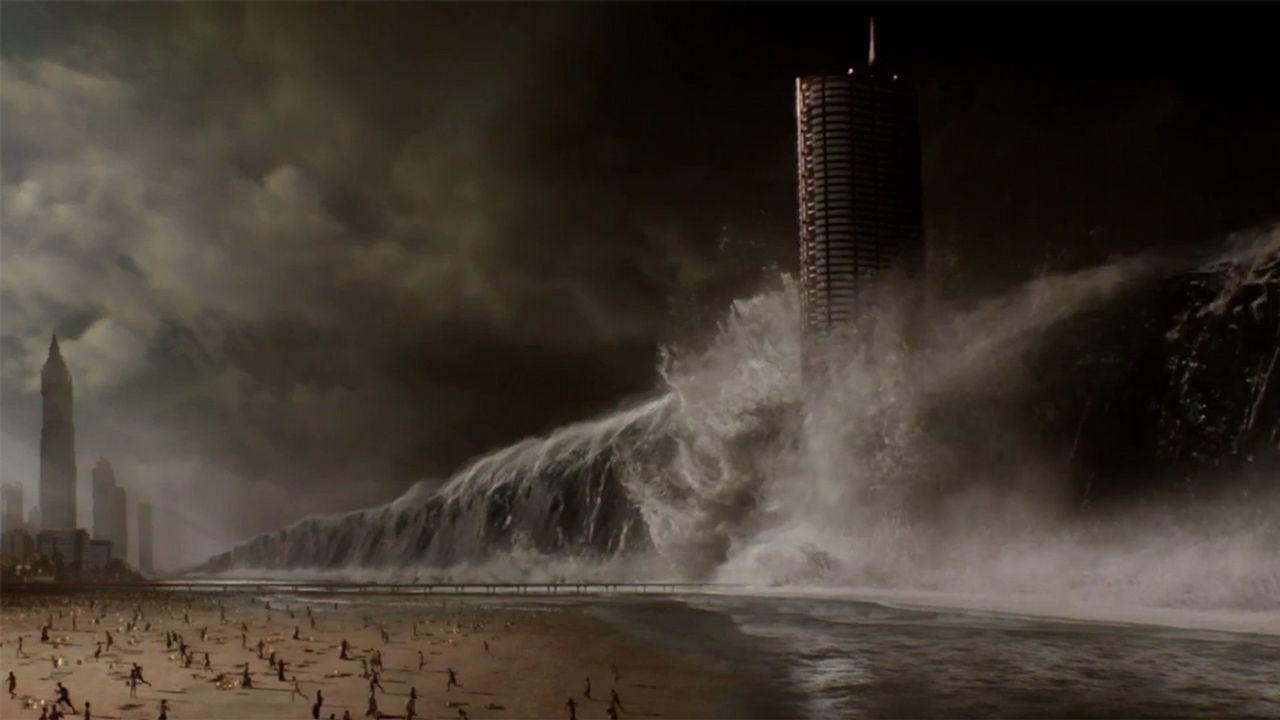 ¿Es posible que se produzca una tormenta global?.Imagen con el cartel de la próxima cita alemana sobre cambio climático