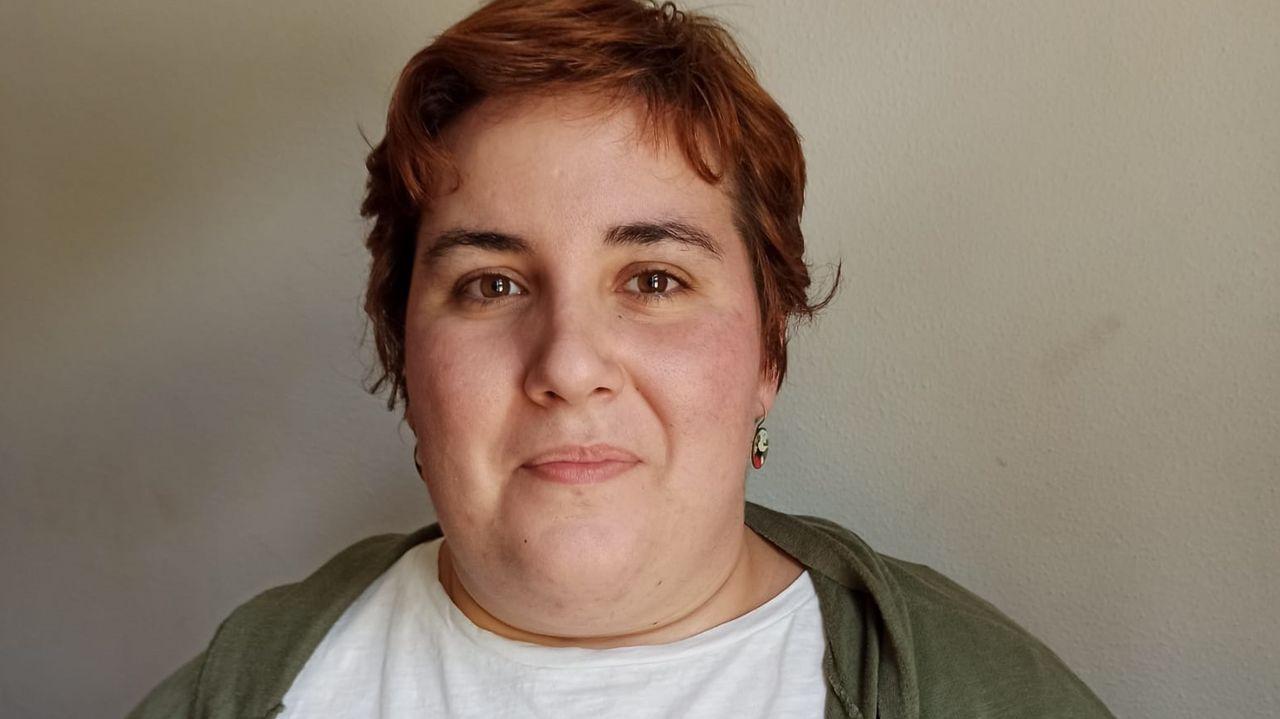 Iria Carreira, número 7 de las listas del BNG por A Coruña. Nacida en Arzúa. Es médica residente