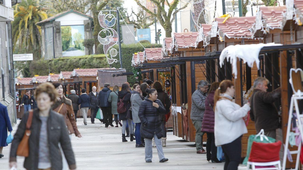Así se ha decorado Vigo por Navidad