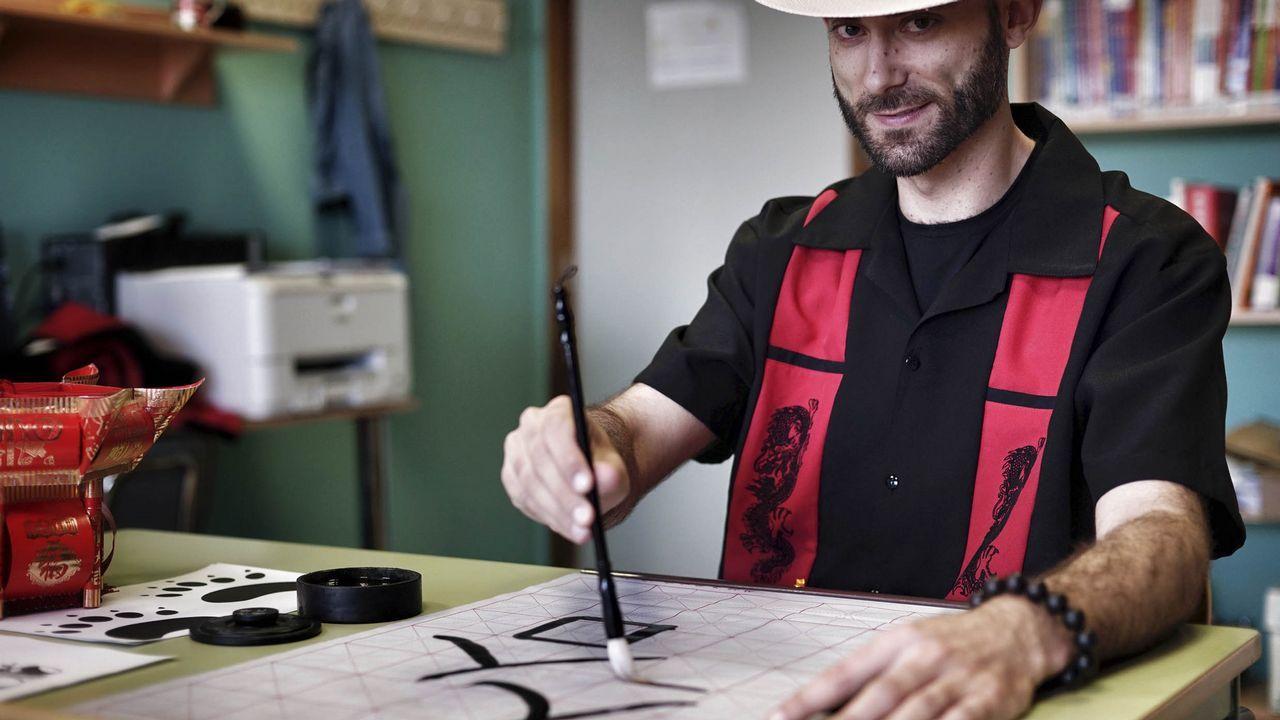 El asturiano Martín López-Vega.Fotograma extraído del programa FAQS