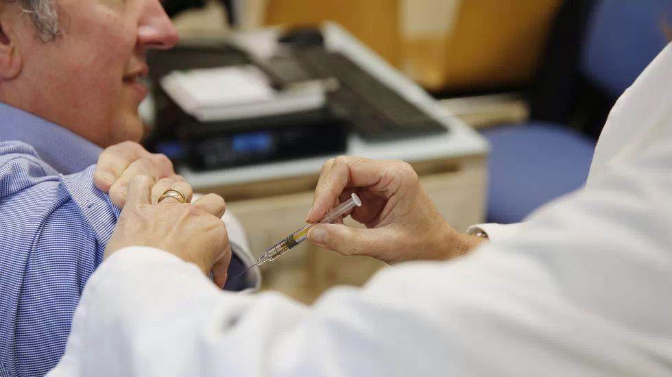 Vacunación contra la gripe.Juzgados de Oviedo
