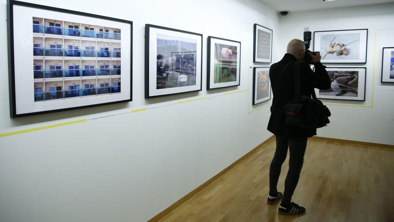 Imagen de archivo de una exposición promovida por la Fundación María José Jove