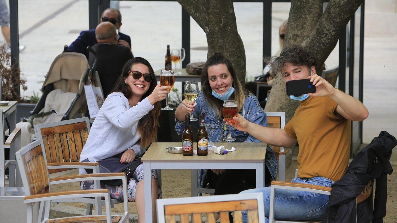 Inmortalizando la primera cerveza en Lugo