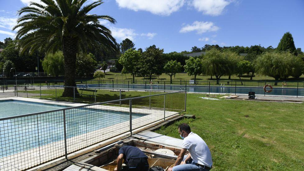 Viejos y nuevos frentes para los servicios de emergencias de Santiago.La SAT Busto-Corzón es una de las mayores y más modernas explotaciones lácteas de Galicia