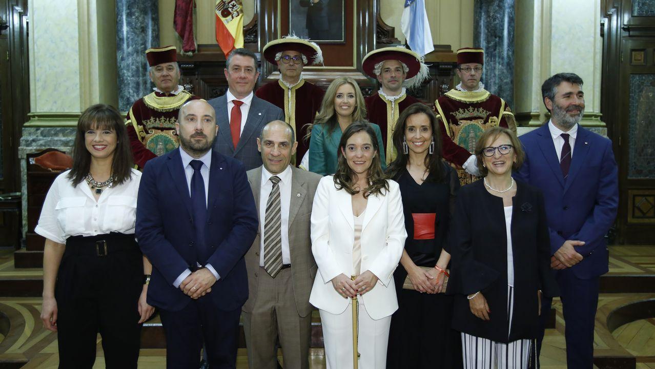 El San Juan de A Coruña, en imágenes.El rector presentó la oferta junto a la vicerrectora Nancy Vázquez