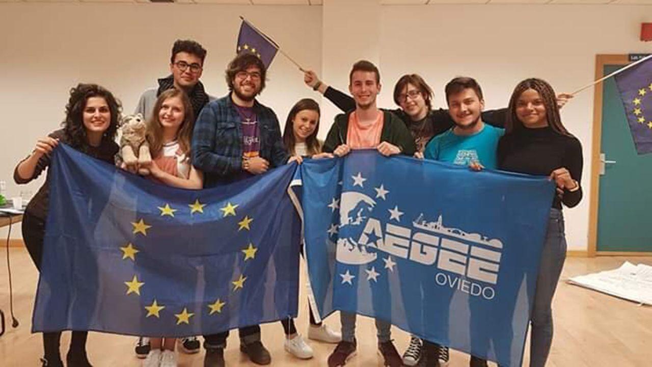 Jóvenes de AEGEE-Oviedo