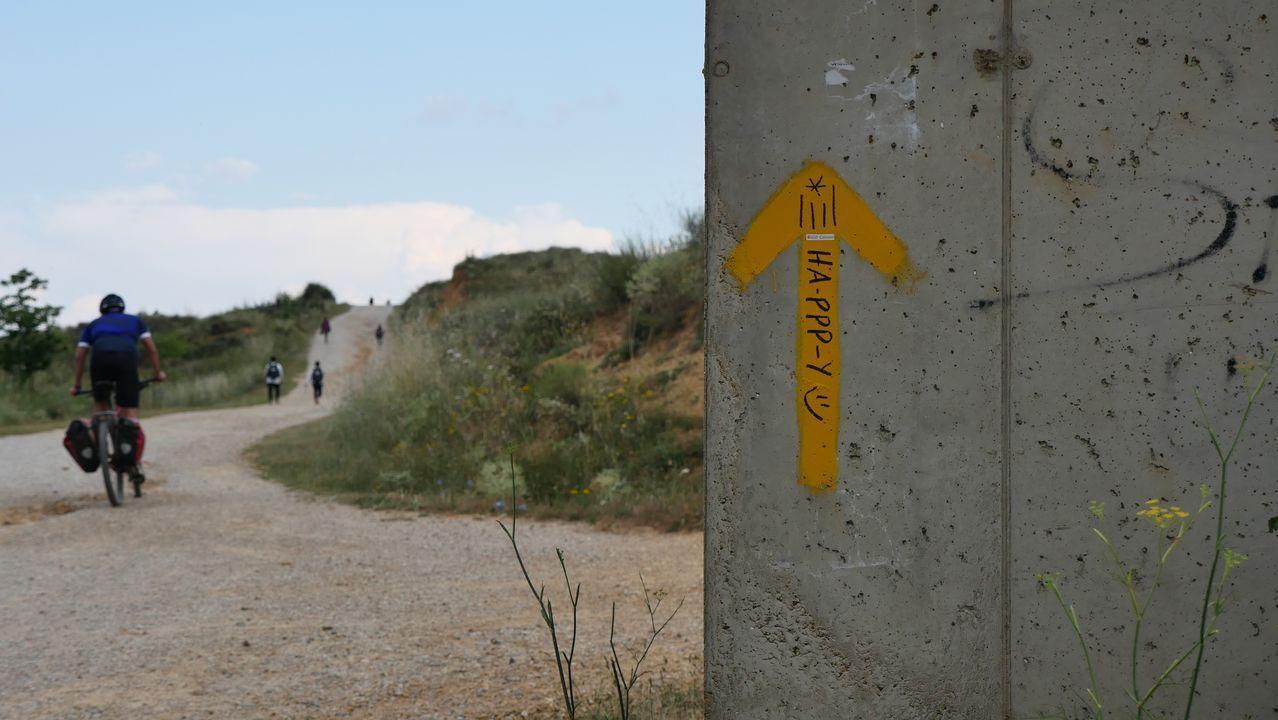 Un trecho del Camino, cerca de León