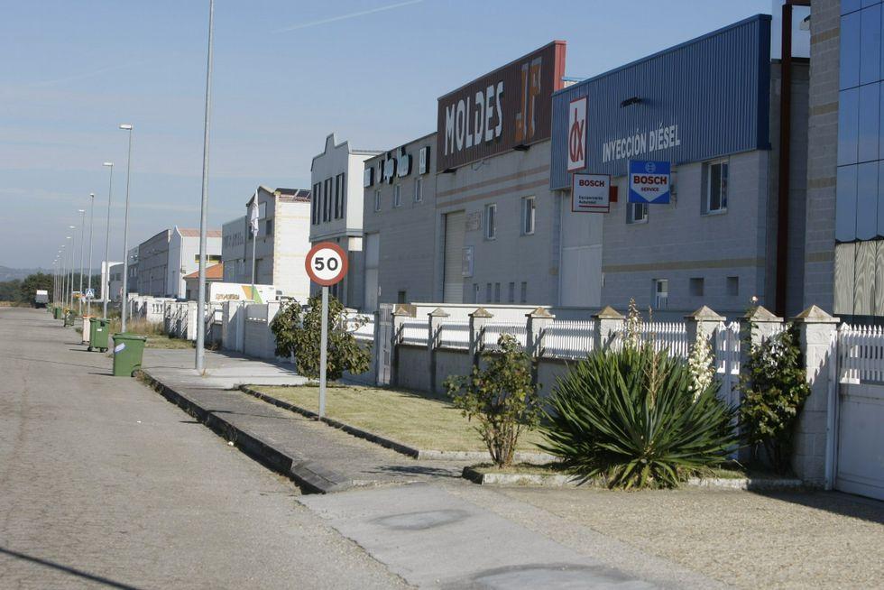Tarde de carreras en Antela.La empresa se ubicará en el parque empresarial.