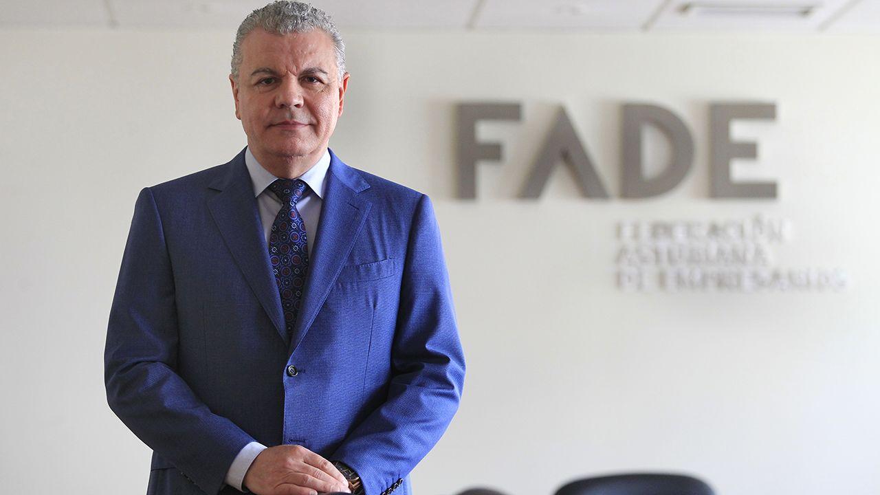 Belarmino Feito, presidente de FADE