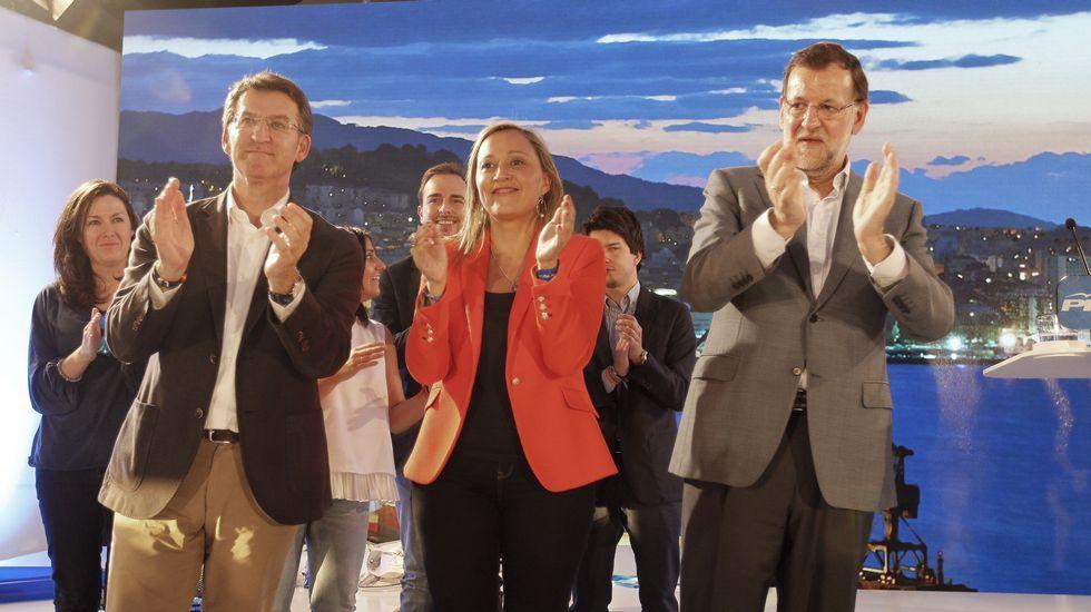 El presidente del Gobierno dio su primer mitin de campaña en Galicia en Vigo