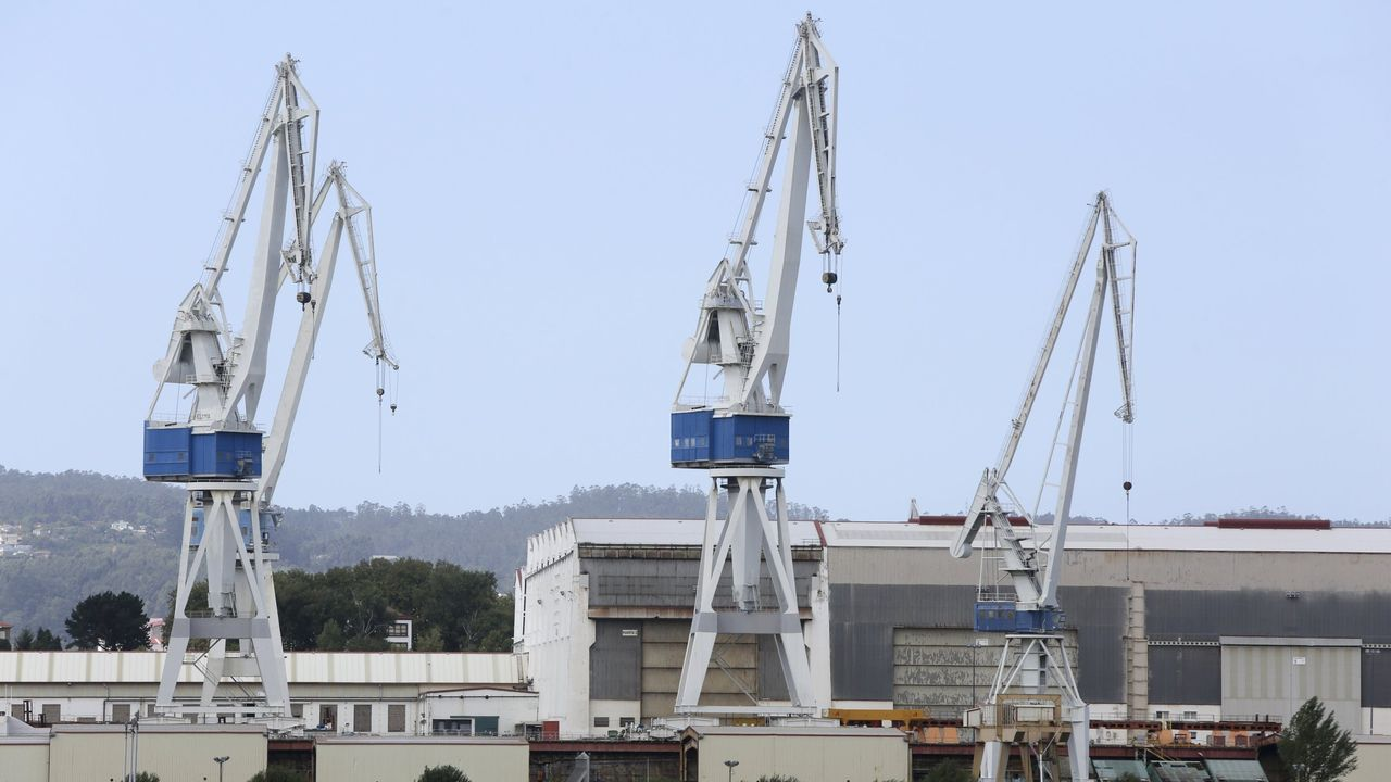 Los demandantes estaban trabajando en la oficina técnica del astillero ferrolano, en pedidos relativos a las fragatas F-110