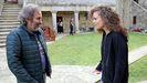 O cineasta Ignacio Vilar, coa actriz Grial Montes