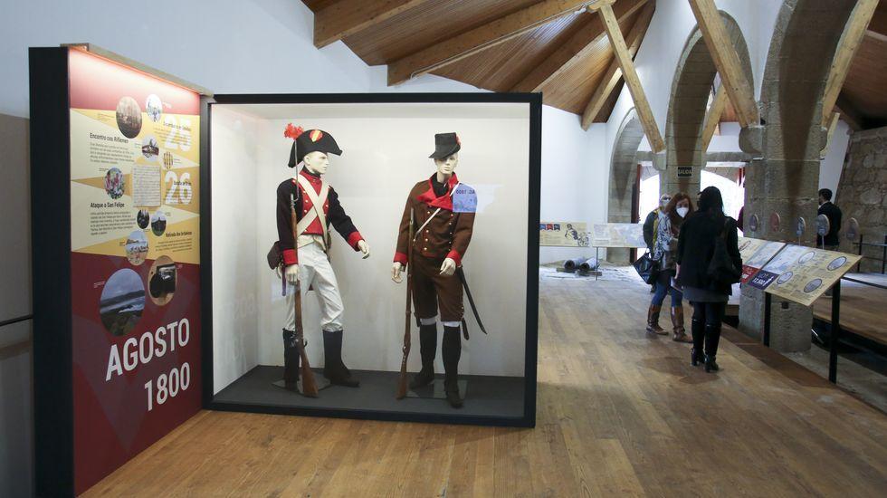 Así es la nueva exposición sobre la Batalla de Brión.Las pallozas son uno de los elementos más simbólicos de la comarca de Os Ancares