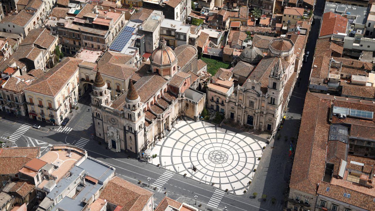 Ciudad de Acireale, en Sicilia.